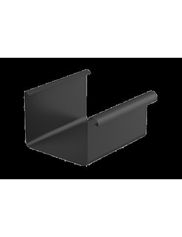 Ринва водостічна метал квадратний Galeco d125, 4м